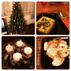Xmas dinner by me: pumpkin soup & chicken with white sauce and mushroom