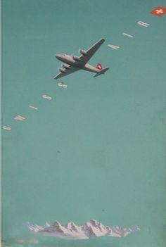 Swiss Air poster.