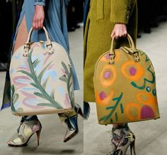 Diy painted maxi bag inspired by Burberry Prorsum
