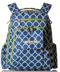 56b0746748 Ju-Ju-Be Be Right Back Backpack Diaper Bag Royal Envy Multi-colored