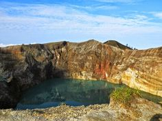 The mysterious colored lakes of Kelimutu  A memorable visit to the mysterious, exotic colored lakes of Kelimutu. http://jakp.st/1rY8fZU   #indonesia   #indonesiaonly   #volcano   #kelimutu   #kelimutu_lake