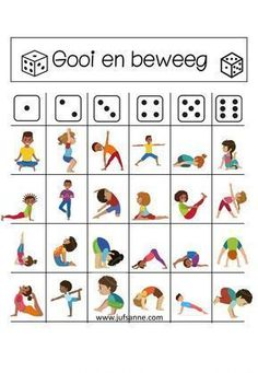 A new trend in your kids' classrooms nowadays. Instead of staring at the board in front, the kids are lying on the floor near their desks practicing yoga Poses Yoga Enfants, Kids Yoga Poses, Yoga For Kids, Exercise For Kids, Gross Motor Activities, Preschool Activities, Physical Activities, Preschool Playground, Elderly Activities