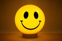 smiley face lamp - still have mine!