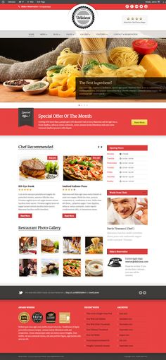 Delicieux is a super premium theme for retail/restaurant. It comes with very nice and friendly design. This is exactly restaurant website should be. This theme also comes with super extensive admin...