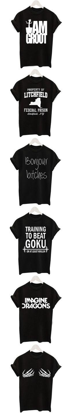 2017 Casual T shirt Women O-neck Tops Letters Print Summer Harajuku Female T-Shirt Short Sleeves Black Loose Thin Tee Shirts