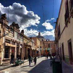 Oh, Jerez, Zacatecas your skies are the bluest I have ever seen.