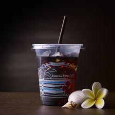 数量・店舗限定「マチカフェ ハワイ コナ グリーンウェル農園アイスコーヒー」♪レモンのような香りがしますね。爽やかな後味が、ハワイのビーチを思わせます(^^)  http://lawson.eng.mg/38ac3