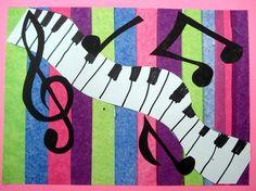 rhythm collage