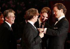 コリン・ファース、ゲイリー・オールドマン、ジョン・ハート、マーク・ストロング@ヴェネチア国際映画祭 Pic Spam! 『Tinker, Tailor, Soldier, Spy/ティンカー・テイラー・ソルジャー・スパイ』: Cinema,British Actors