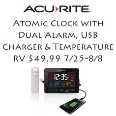 Acurite Atomic Clock Giveaway