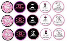 B2G1 Sale Chanel Bottle Cap Images by KFlexBoutique on Etsy, $1.75