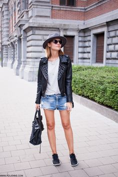 POLIENNE - A personal style diary⎪Leather & studs