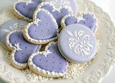 Baby shower cookies by JP Creatibles, designed for Frog Prince Paperie <3