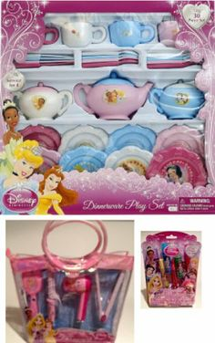 Disney Princess Deluxe Tea Party & Glamour Set Disney.