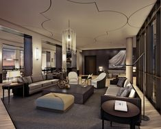 Lounge at Yorkville Condominiums by Lifetime Developments