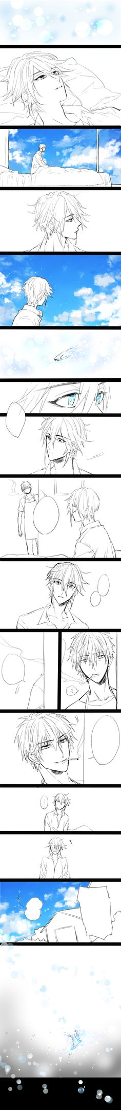 「【中国語注意】尊礼LOG」/「敬」の漫画 [pixiv] Mikoto x Munakata