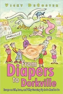 """Vicky DeCoster's books are hilarious.  """"As I endured everyday challenges that tested not only my inner-strength but also my endurance, I came to fully relate with Eleanor Roosevelt who once said, """"A woman is like a tea bag. You never know how strong she is until she gets in hot water."""" I never could do a chin-up, but that's okay. In the end, I learned that it's more important to hang on for dear life and enjoy the ride."""""""