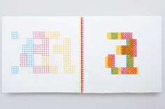 Printed Matter - Evelin Kasikov – CMYK embroidery and Typographic Design – London