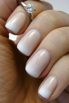 Plain on the ring finger. | See more nail designs at http://www.nailsss.com/acrylic-nails-ideas/3/