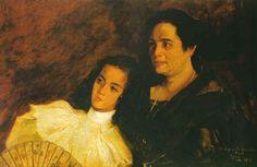 """""""Nena y Tinita"""" by Juan Luna, 1897"""