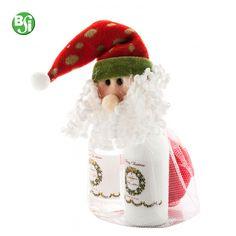 Set da bagno di Natale Set da bagno alla lavanda in bustina regalo di Natale. Il set comprende: gel doccia 150 ml, bagno schiuma 150 ml e 1 spugna da bagno. #gift #christmas #gadget #natale #setbagno