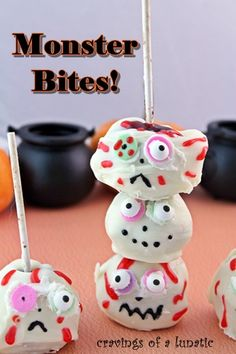Monster Bites: Cake Pops