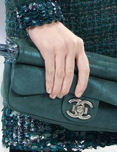 Chanel - luv the skirt, luv the handbag and luv the nails!