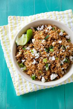 Quinoa Pilaf with Chipotle, Queso Fresco and Lime | Annie's Eats