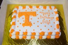 Tennessee Vols Cake By Kellybean6 on CakeCentral.com