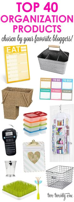 Top Organization Products (Two Twenty One)