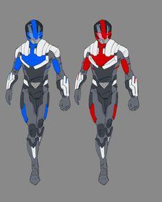 Armor Concept, Concept Art, Power Rangers Fan Art, Ranger Armor, Power Rangers Megazord, Miles Morales Spiderman, Character Art, Character Design, Avengers Alliance