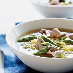 Chinese Pork and Asparagus Soup - Tasty Asparagus Recipes - Sunset
