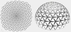 Developable dome
