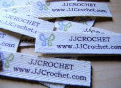 DIY Sew-In Fabric Labels
