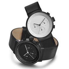 The Kuira chronograph watch is Italian designer Alessio Romano's latest watch for US brand Projects. #watches #design