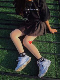 Ulzzang Fashion, Ulzzang Girl, Korean Fashion, Cute Fashion, Look Fashion, Teen Fashion, Swag Outfits, Girl Outfits, Fashion Outfits