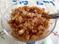 Apple Harosets for Passover | Foodie Goes Healthy