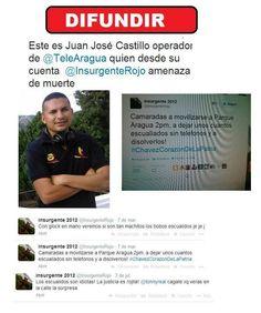 "@LucioQuincioC ""@joseveren: @Ann Flanigan k: PLENAMENTE IDENTIFICADO HDP MADURISTA ASESINO (IMAGEN)"