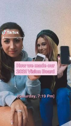 Here, we're showing you show we made our vision board! Hope it helps with yours! #create #visionboard #pink #millennialgirls Today Episode, Inspiration Wall, Insight, To Go, Boards, Social Media, Create, Pink, Planks