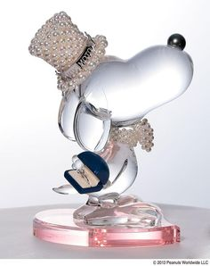 Japanesque Snoopy Crystal