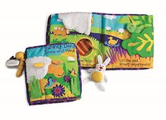 Manhattan Toy Soft Activity Book with Tethered Toy   MyPointSaver