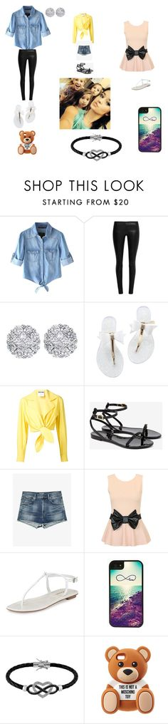 """#1"" by princessjakie7 ❤ liked on Polyvore featuring Chicnova Fashion, The Row, Allurez, Moschino, Ted Baker, Anja, Prada, CellPowerCases and Jewel Exclusive"