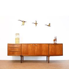 Classic Long Credenza by A.H McIntosh in beautiful Teak. We have 2 of these arriving in early April on our next shipment 🚢. Mid Century Credenza, Midcentury Modern, Teak, Heaven, Classic, Furniture, Beautiful, Instagram, Home Decor