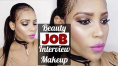 Land your DREAM JOB || Easy Interview Makeup ♡  #getyourdreamjob #easyfullfacemakeupforjobinterview #beautyinterviewmakeup