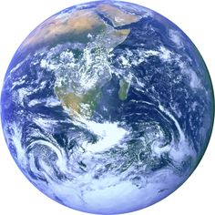 Blue Marble (Earth) by @GDJ, A trace of the famous NASA Blue Marble image., on @openclipart