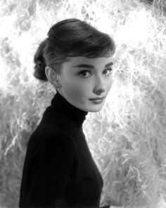 Audrey Hepburn photographed by George Daniell, 1955