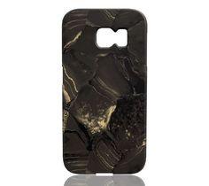 Golden Lava Stone Marble Phone Case - Samsung Galaxy S6 Edge