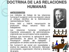 Doctrina de las relaciones humanas