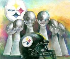 Pittsburgh Steelers - 6 pack
