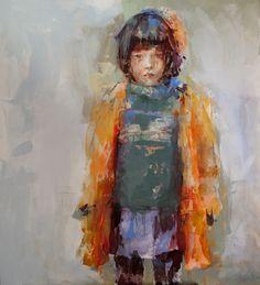 "Saatchi Art Artist: Fernanda Cataldo; Acrylic Painting ""Clara"""